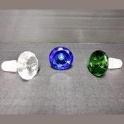Three jewel faceted